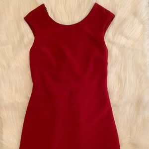 Zara Red Formal Dress